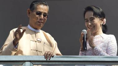 Partido de Suu Kyi proyecta victoria histórica en Myanmar, antigua Birmania