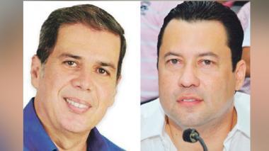 Jorge Rosales Steel, diputado del Atlántico (izq) y Adalberto Llinás, diputado del Atlántico (der).