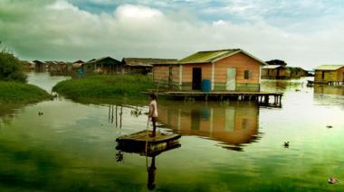 Nueva Venecia, el pueblo flotante, verá en vivo la emisión del documental de Señal Colombia.