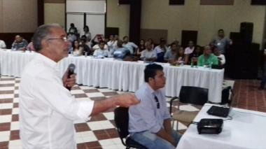 Alcaldes electos tienen su primer encuentro con Eduardo Verano