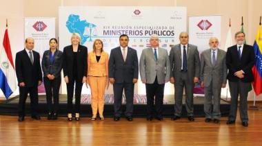 Fiscales generales de Mercosur.