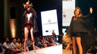 Laura Riquett cautivó con su colección Floorà al público del Barranquilla Fashion Week