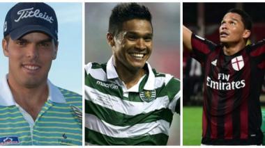 Ricardo Celia, Teófilo Gutiérrez y Carlos Bacca, nominados a Deportista del Año por Acord Atlántico