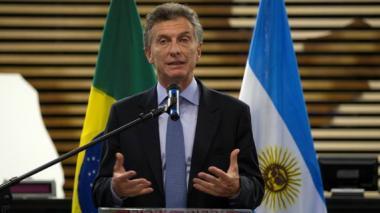 """Macri aboga por una """"desideologización"""" del Mercosur"""
