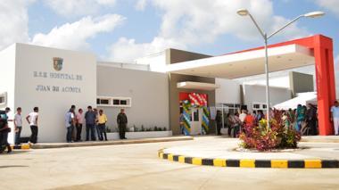 El joven fue llevado al hospital de Juan de Acosta.