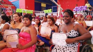 Transfórmate Tú Mujer gradúa a 617 mujeres, en Atlántico