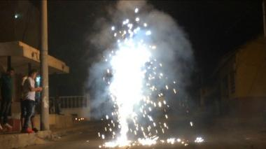 La pólvora, sin control en Barranquilla y en Soledad