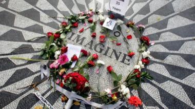 Nueva York recuerda a John Lennon, a 35 años de su asesinato