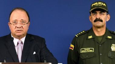 """""""Quieren desprestigiar a la Policía, al general Palomino y a otros oficiales"""": Mindefensa"""