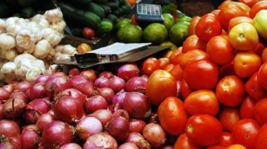 Altos precios de alimentos llevaron la inflación a 6,77% en el 2015, según el Dane