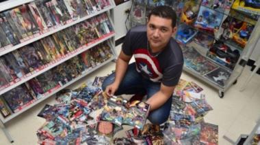 Yi comics store está ubicado en el centro comercial Galería Real de Paseo Bolívar.