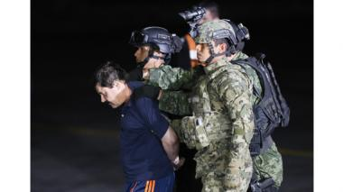 Policía colombiana revela nexos entre 'Chapo' Guzmán y alias Otoniel, jefe del 'clan Úsuga'