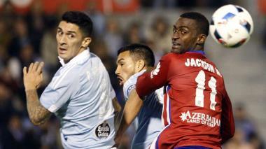 Jackson continúa en blanco con el Atlético de Madrid