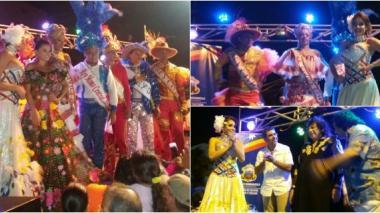 Izada de bandera y lectura del bando dan inicio a Carnaval Gay 2016