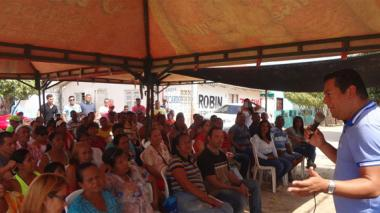 Alcaldía de Malambo socializa nueva pavimentación de vías