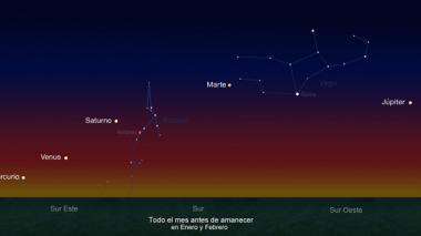 Cinco 'apps' que te ayudarán a localizar los 5 planetas que se alinean desde este miércoles