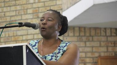 Dudu Mazibuko, alcaldesa de Uthukela.