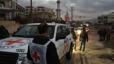 Comité internacional de la Cruz Roja pidió acceso humanitario en Siria, sin importar el resultado de la negociación