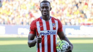 Jackson Martínez, ausente del entrenamiento del Atlético con permiso del club