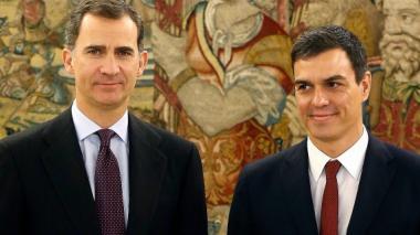 Felipe VI propone al socialista Pedro Sánchez como candidato al Gobierno