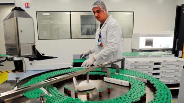 Laboratorios Sanofi-Pasteur en Val-de-Reuil, en Francia.