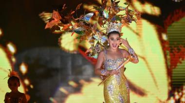 Macondo revivió en el show de coronación de Marcela García, reina del Carnaval