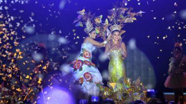 Macondo brilló en la coronación de Marcela