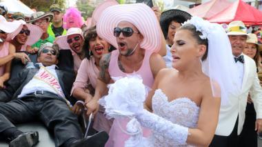 El rey Momo se 'vistió' de Joselito para despedir el Carnaval