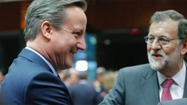 """""""Lo más probable es que haya elecciones el 26 de junio"""": Rajoy a Cameron"""
