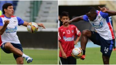 Ovelar ha colocado dos asistencias en los tres goles que suma Junior en la Liga. Toloza ha mostrado sacrificio y le anularon un gol frente al Huila.