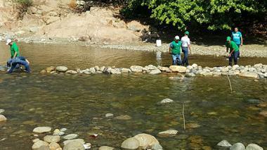 Sequía: reducen 50% captación de agua en el río Guatapurí