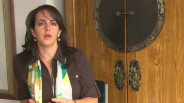María Fernanda Cabal, quien perteneció a la junta directiva de Fundagán.