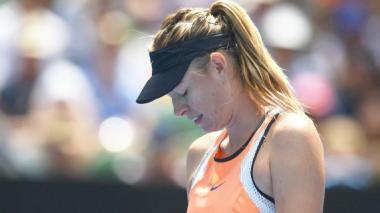 Sharapova anuncia que dio positivo en el Abierto de Australia
