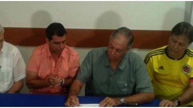 Las declaraciones fueron dadas en el marco de la firma del ó el convenio entre el Distrito, la Gobernación y Coldeprotes, que garantiza los recursos para la construcción de los escenarios deportivos en beneficio de los Juegos Centroamericanos y del Caribe 2018.