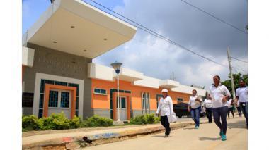 Distrito avanza en la prevención de enfermedades y mejora en infraestructura