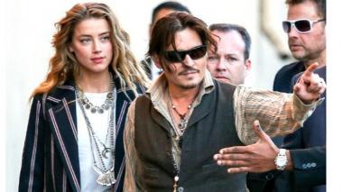 Esposa de Johnny Depp pagará pena leve por entrada ilegal de perros a Australia