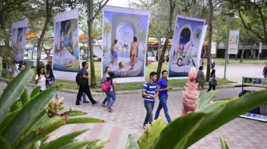 'Témpanos tropicales' anticipan el Día de la Tierra en Barranquilla