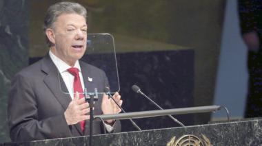 Santos pide replantear guerra contra las drogas