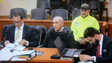 Alias Marquitos (segundo de izq. a der.), durante la audiencia de legalización de su captura.