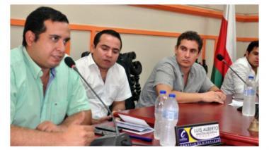 Quessep presentó cuatro proyectos de acuerdo al Concejo