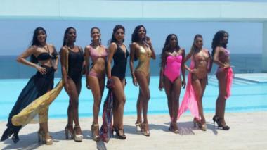 Candidatas a Señorita Cartagena se destapan