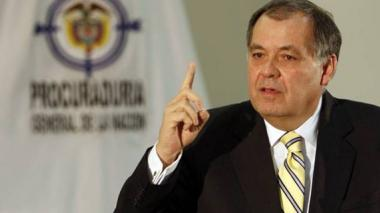 El procurador General, Alejandro Ordóñez Maldonado.