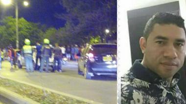 Asesinan a tiros a comerciante de celulares que se movilizaba en su vehículo junto a su familia
