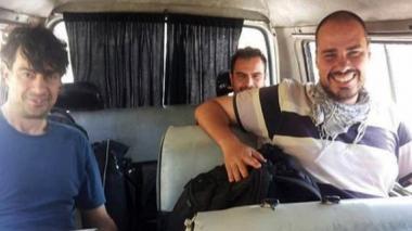 Liberan a tres periodistas españoles secuestrados en Siria hace casi un año