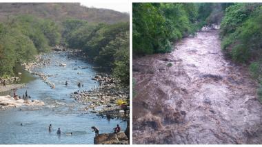 Declaran la alerta amarilla por crecientes del Guatapurí