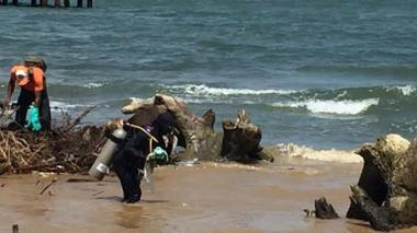 Piden cerrar playa Los Cocos en Santa Marta por contaminación