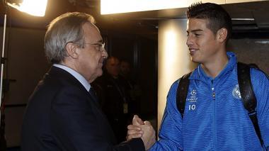 James es intransferible para Florentino Pérez, según diario AS