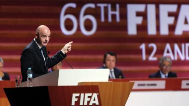 Gianni Infantino da por superada la crisis de la Fifa