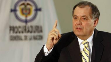 El procurador General de la Nación, Alejandro Ordóñez.