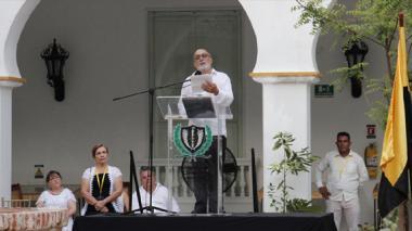 Las conmovedoras palabras de Gossaín en la ceremonia del memorial a Gabo